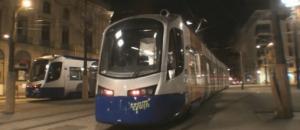 Tram Train essai de nuit