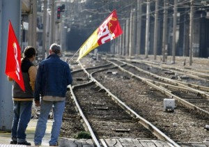 greve sncf trains