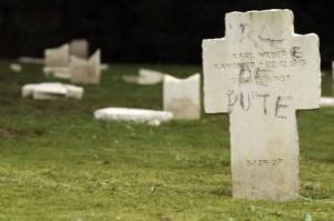Profanation de tombes de soldats allemands à Guebwiller