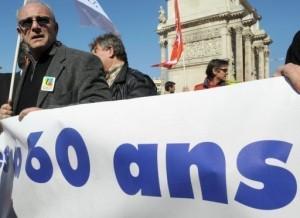 Retraite : L'Alsace manifeste
