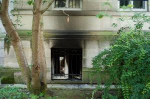 Incendie criminel au Tribunal de Grande Instance de Strasbourg
