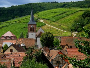 Village viticole