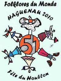 Affiche de la 51ème Fête du houblon