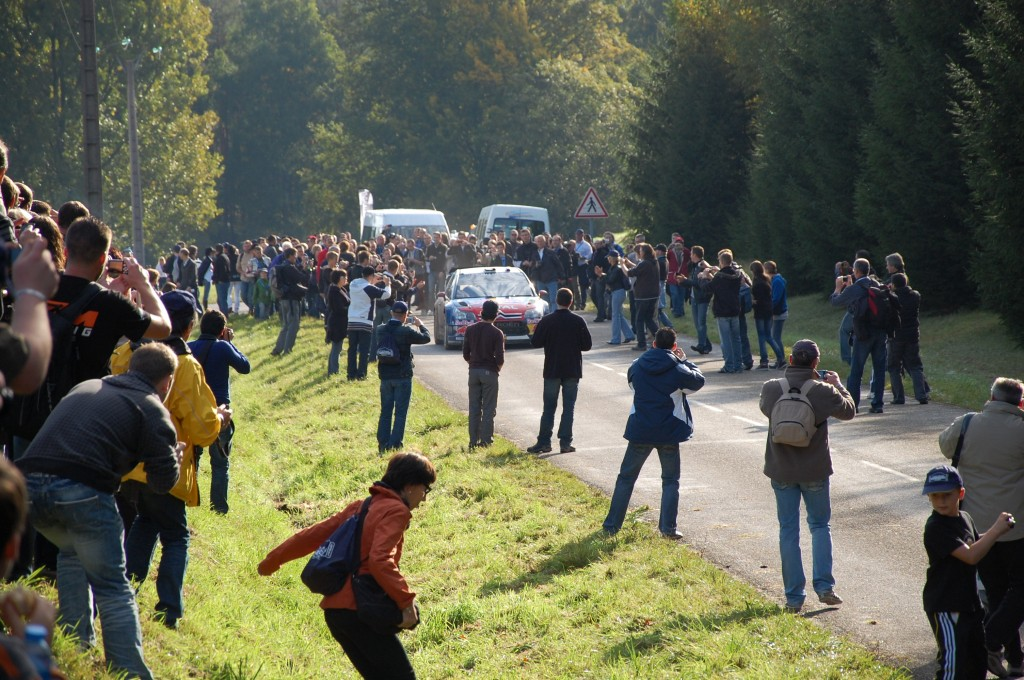 Passage Sébastien Loeb WRC