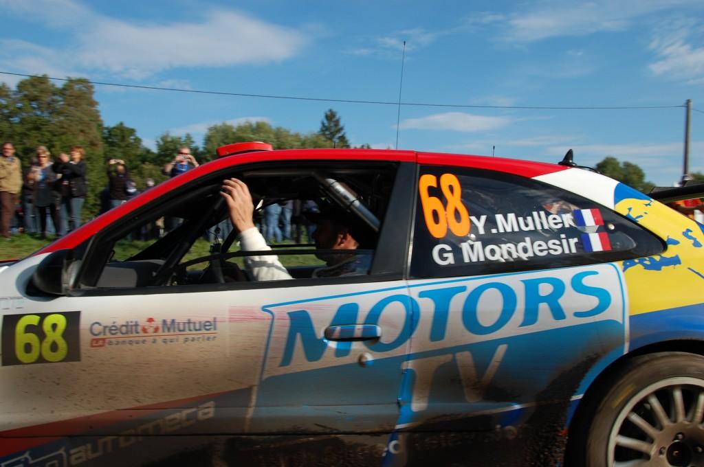 Yvan Muller WRC Alsacien