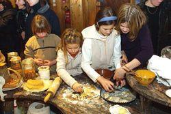 Atelier pâtisserie à l'Ecomusée d'Alsace