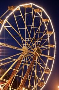 Grande roue de l'Ecomusée d'Alsace