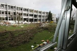 Explosion à l'école de chimie de Mulhouse