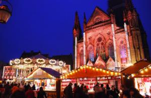 Ouverture du Marché de Noël de Mulhouse