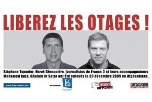 Herve Ghesquiere et Stephane Taponier