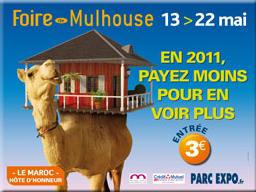 Foire de Mulhouse du 13 au 22 mai 2011