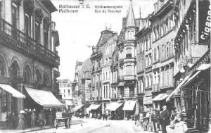 Fuite de gaz rue du Sauvage à Mulhouse