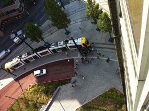 Accident tram vélo Mulhouse 31 août 2011