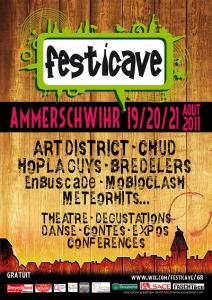 Festival Festicave 2011 4ème édition Ammerschwihr