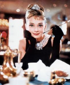 Diamant sur canapé Audrey Hepburn