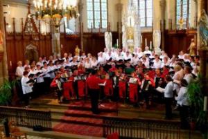 Concert de la Chorale de l'Amitié à Thann