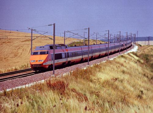 Spectacle son et lumière pour le lancement du TGV Rhin-Rhône