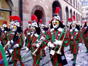 Morgenstreich : Carnaval de Bâle 2012