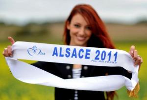 Delphine Wespiser Miss Alsace 2012