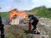 Extinction d'incendie