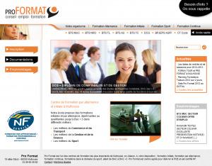 Site web de Pro Format