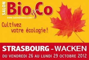 Salon Bio&Co à Strasbourg du 26 au 29 octobre 2012