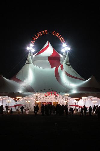 Cirque Arlette Gruss à Mulhouse jusqu'au 8 mai 2012