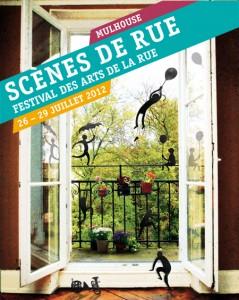 Le Programme de Scènes de Rue 2012 à Mulhouse