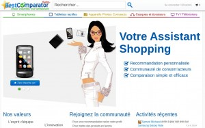 BestComparator, un assistant shopping social