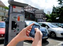 Parking Mulhouse paiement téléphone portable