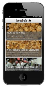Bredele.fr sort son application iPhone
