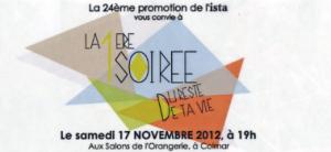 Gala ISTA 2012 à Mulhouse-Colmar