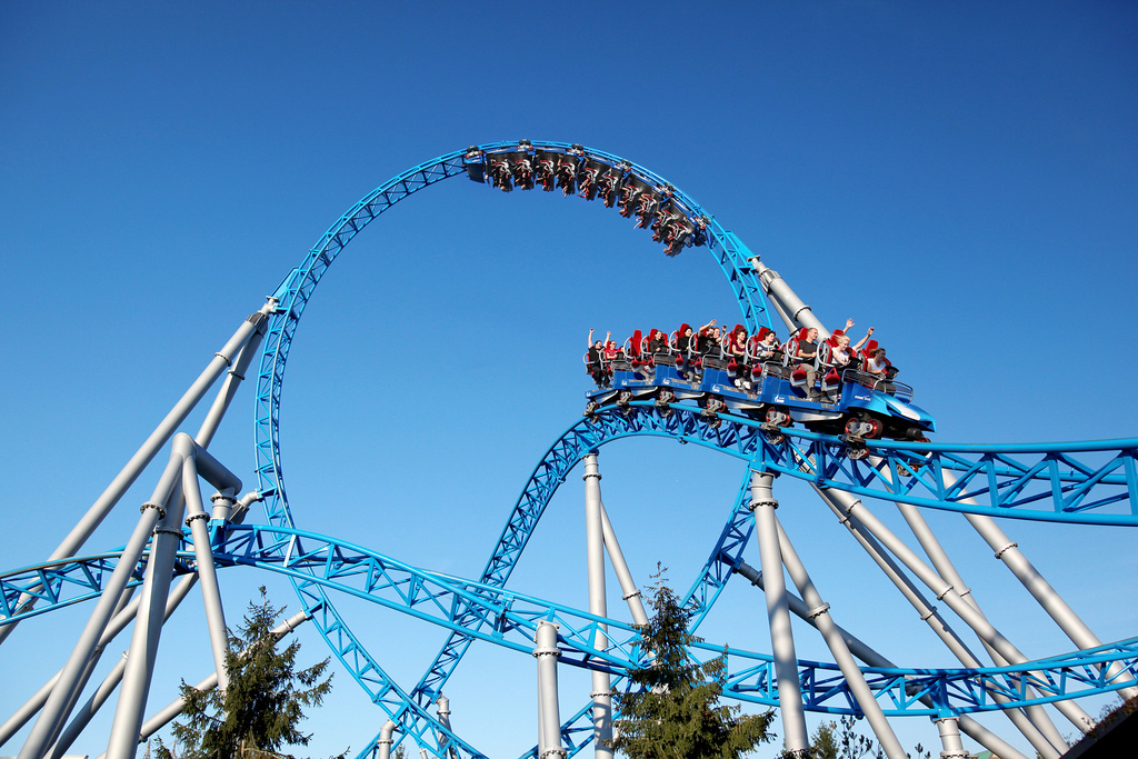 BlueFire attraction Europa Park
