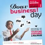 Les Doux Business Day ! 3ème édition : un évènement pour rencontrer les prestataires du tourisme d'affaires à Mulhouse.