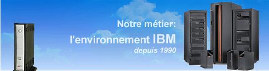 Environnement IBM de l'entreprise Marxer
