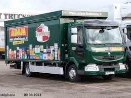 Camion de distribution Adam Boissons