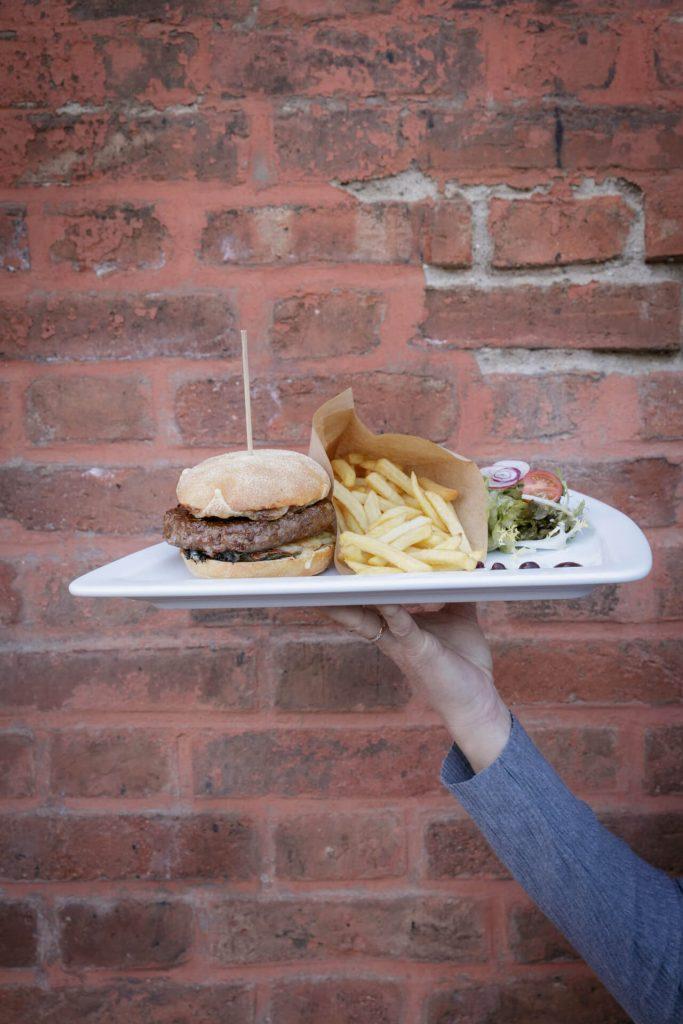Burger à la carte : Restaurant Le Pantographe Mulhouse